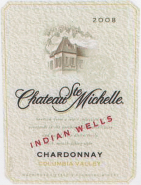 "2008 Chateau Ste. Michelle ""Indian Wells"" Chardonnay"